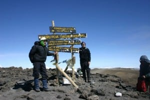 Kilimanjaro Summit (c) C Dougherty